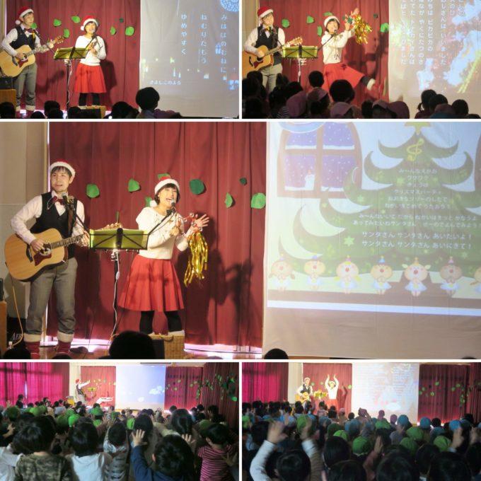 千葉県柏市立・松葉保育園でクリスマスコンサートに出演しました☆