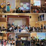 横浜市立・川上小学校のPTA主催イベントでコンサートを行いました☆