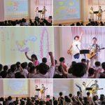 東京都江戸川区・清新第一保育園でコンサートを行いました☆