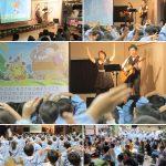 横浜市・上飯田幼稚園お楽しみ会に出演しました☆