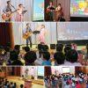福島県・湯川村立ゆがわ幼稚園の幼児文化体験教室でコンサートを行いました☆
