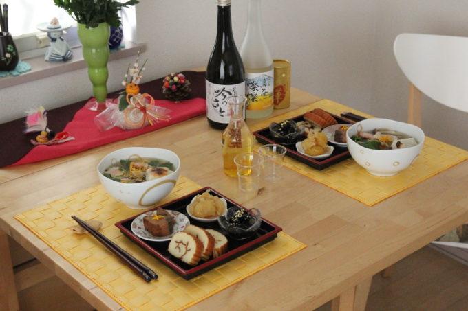 日本酒とお屠蘇と