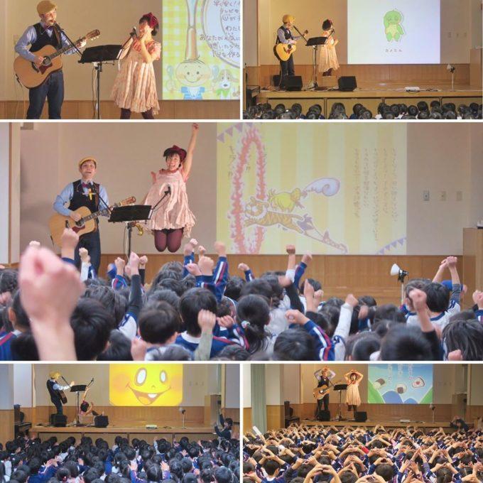 @入間市・若杉幼稚園 コンサートの様子